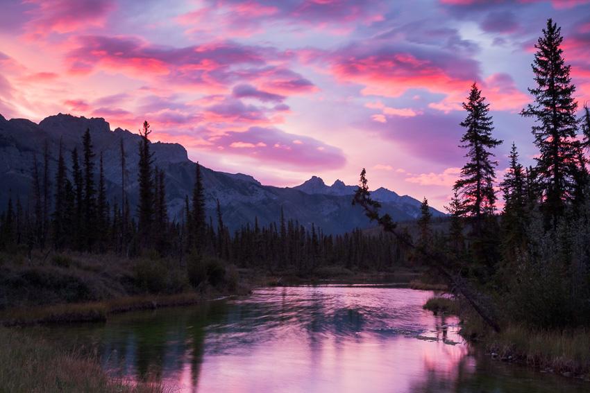 Glory Hole, Jasper NP, Alberta, Canada