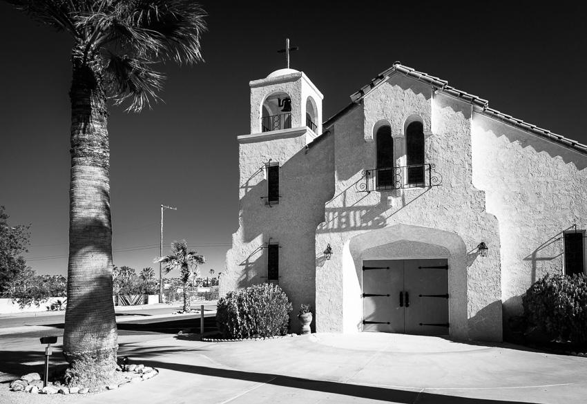 Church in Twentynine Palms, California